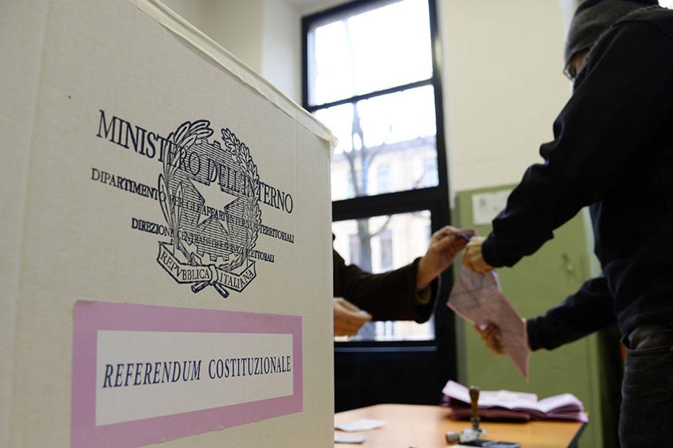 Alle Männer, die gegen das Verfassungsreferendum in Italien gestimmt haben, werden jetzt belohnt.
