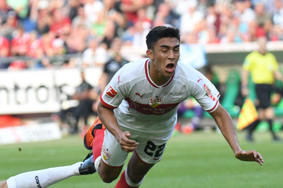 Wartet auf seinen erstes Bundesliga-Tor: Nicolás González (20).