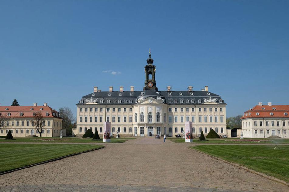 Schloss Hubertusburg in Nordsachsen.