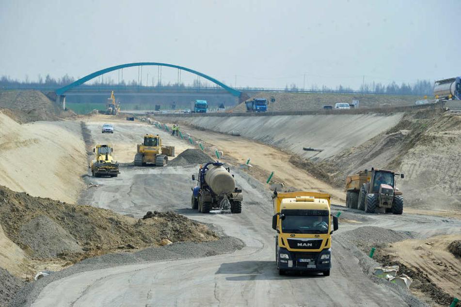 Ausbau der A72 bei Leipzig: Das letzte Stück wird eine Mammut-Aufgabe