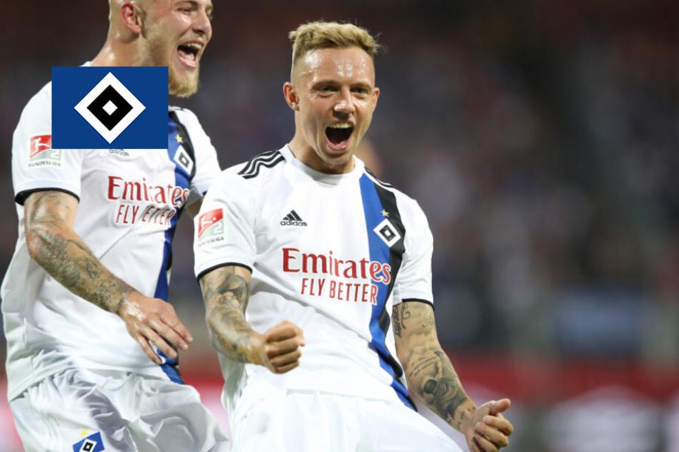 Immer wieder Kittel! HSV zerlegt 1. FC Nürnberg in Einzelteile