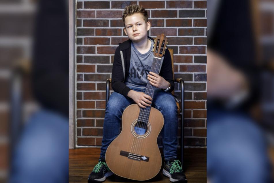 """Alex Salomon (12) will's noch mal bei """"The Voice"""" versuchen - wenn er älter ist."""