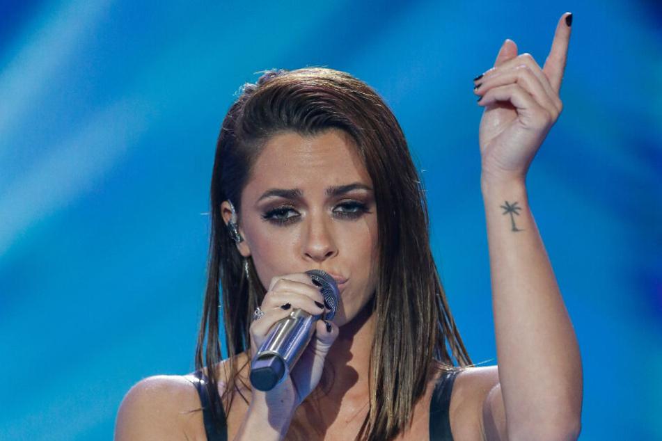 Vanessa Mai singt auf der Bühne der ZDF-Gala im September letzten Jahres.