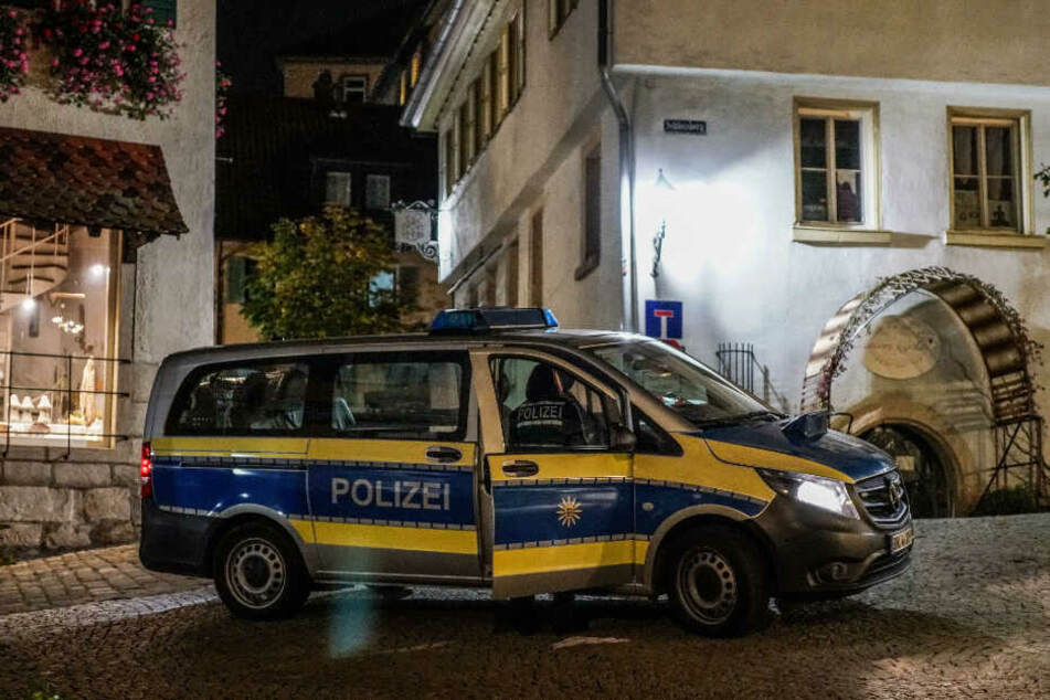 Polizei in Nürtingen.