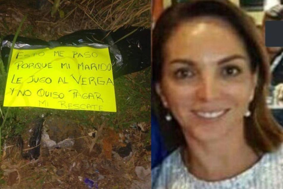 Entführte Frau geköpft, weil Mann kein Lösegeld zahlte: Täter hinterlassen widerliche Nachricht