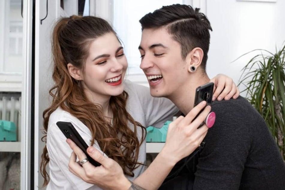 Klaudia Giez arbeitet nicht nur mit Fotograf Filipe zusammen. Die beiden Social-Media-Stars sind ein Liebes-Paar.