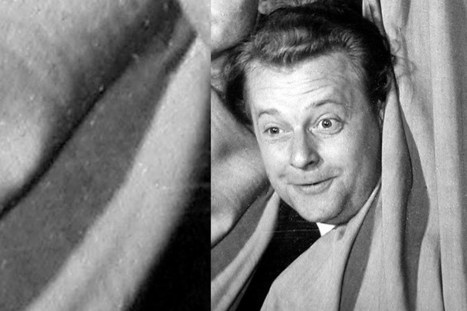 """Gepfeffertes Mundwerk: Manfred Uhlig als Pfeffermühlen-Kabarettist im Jahre 1956 mit dem Programm: """"Rührt Euch!"""""""