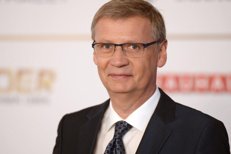 Günther Jauch bei der Verleihung des Deutschen Radiopreises.