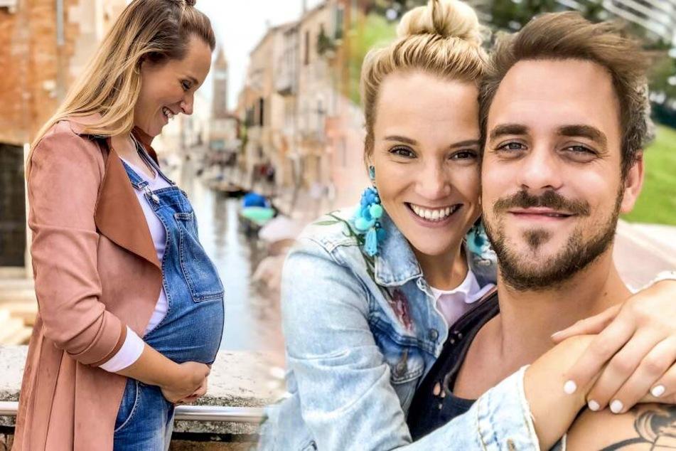 Baby endlich da! Anna Hofbauer und Marc Barthel erstmals Eltern geworden