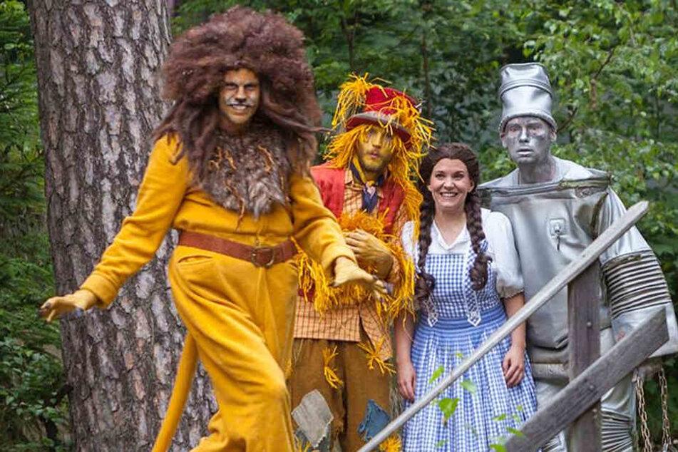 """Mit dem """"Zauberer von Oz"""" läutet das Naturtheater Greifensteine die Festspiel-Saison ein."""