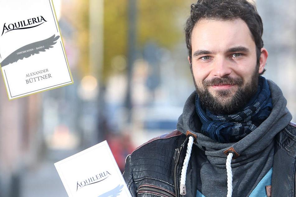 Am ersten Wälzer arbeitete er zehn Jahre: Chemnitzer will Buchmarkt erobern