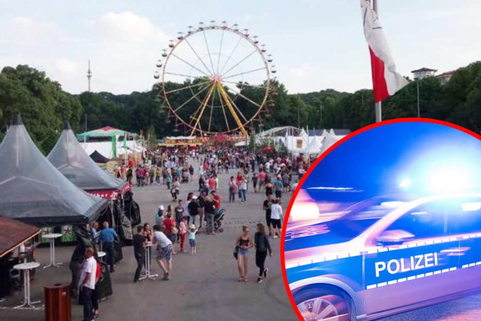 Bombendrohung: Volksfest bei Leipzig abgebrochen