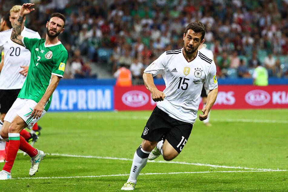 Amin Younes gewann 2017 den Confederations Cup mit der deutschen Nationalmannschaft.