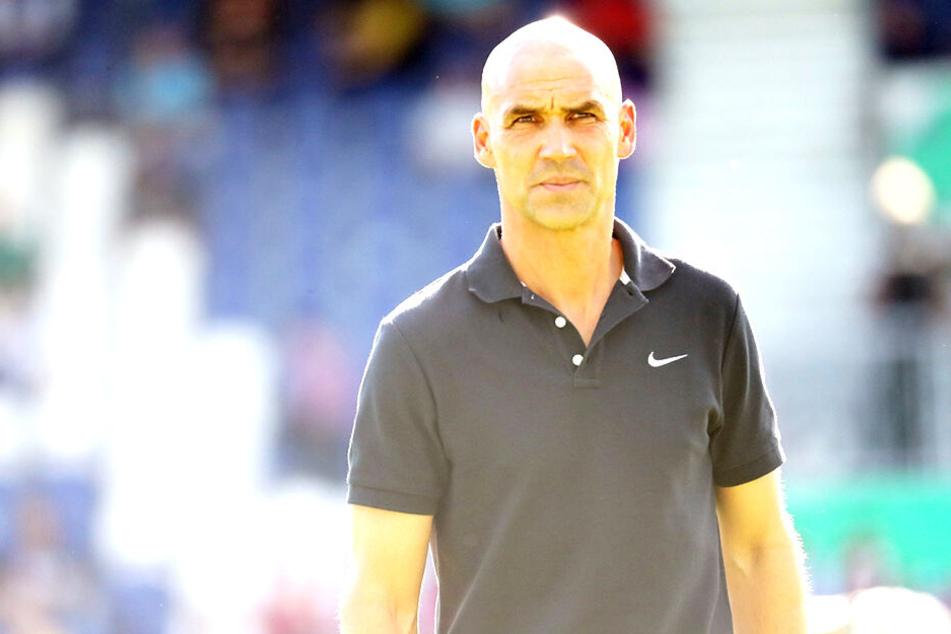 Thomas Letsch war nur wenige Tage Trainer bei Erzgebirge Aue.