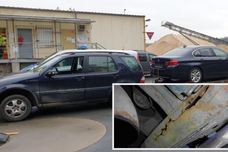 """Katastrophe auf A3 verhindert: Anhänger an SUV hing nur noch am """"seidenen Faden"""""""