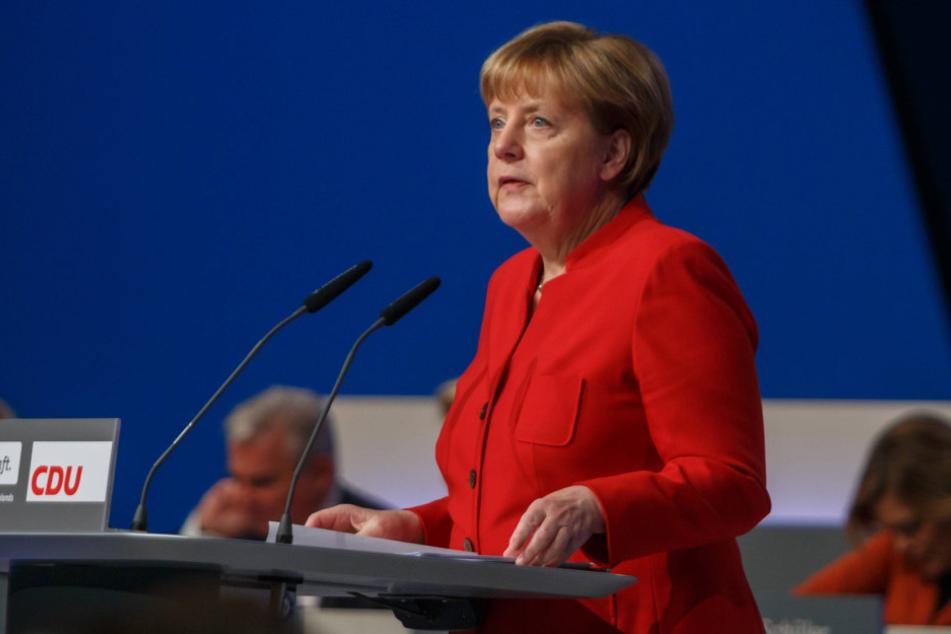 Deutliche Worte von der Kanzlerin beim Parteitag in Essen: Angela Merkel (62) will ein Burka-Verbot in Deutschland.