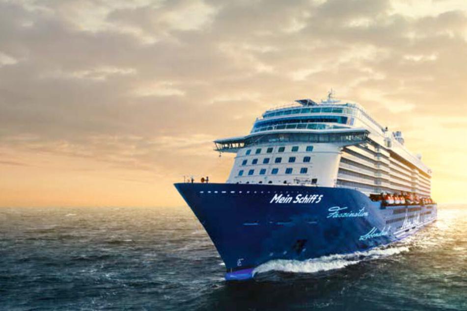 Die Mein Schiff 5 sticht am 14. Oktober in See.