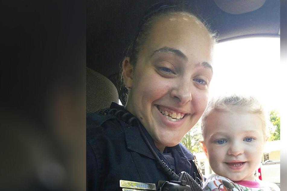Cassie Barker mit ihrer Tochter Cheyenne.