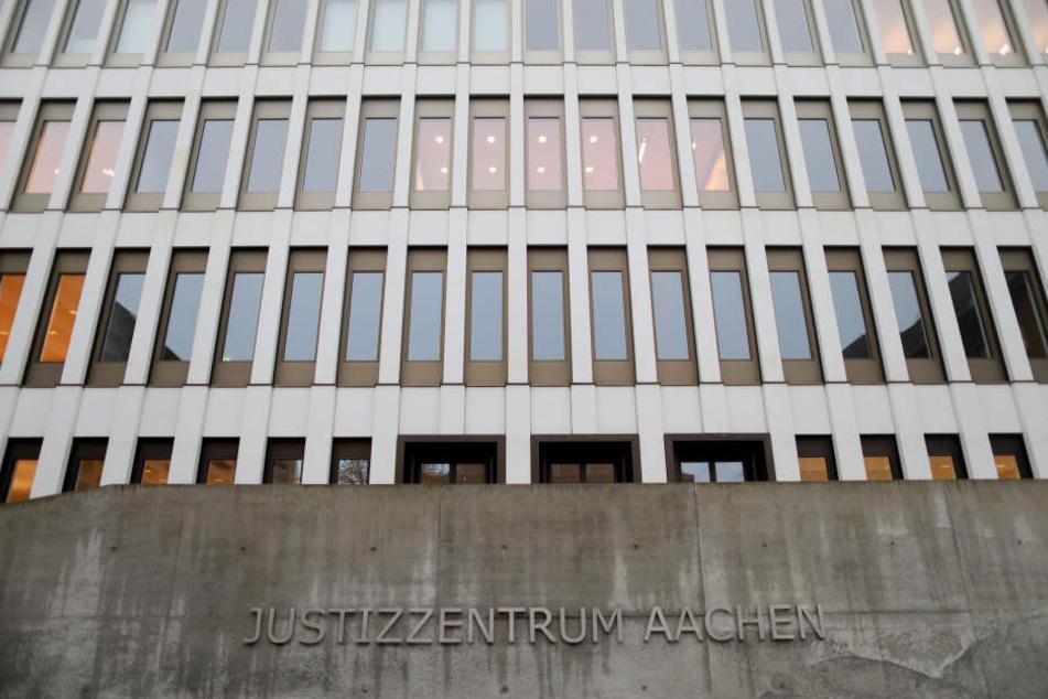 Das Gericht in Aachen verhandelt den Fall.