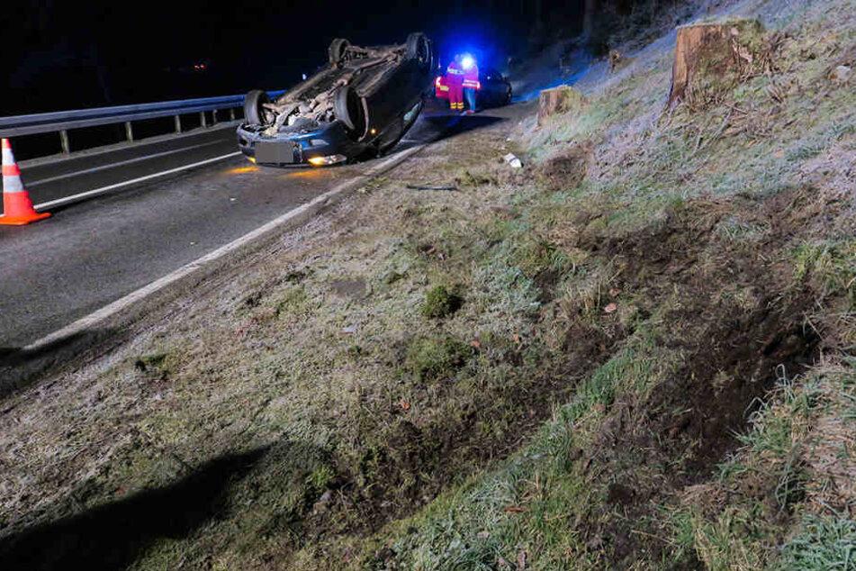 Auf der B283 gab es am Samstag einen Verkehrsunfall.