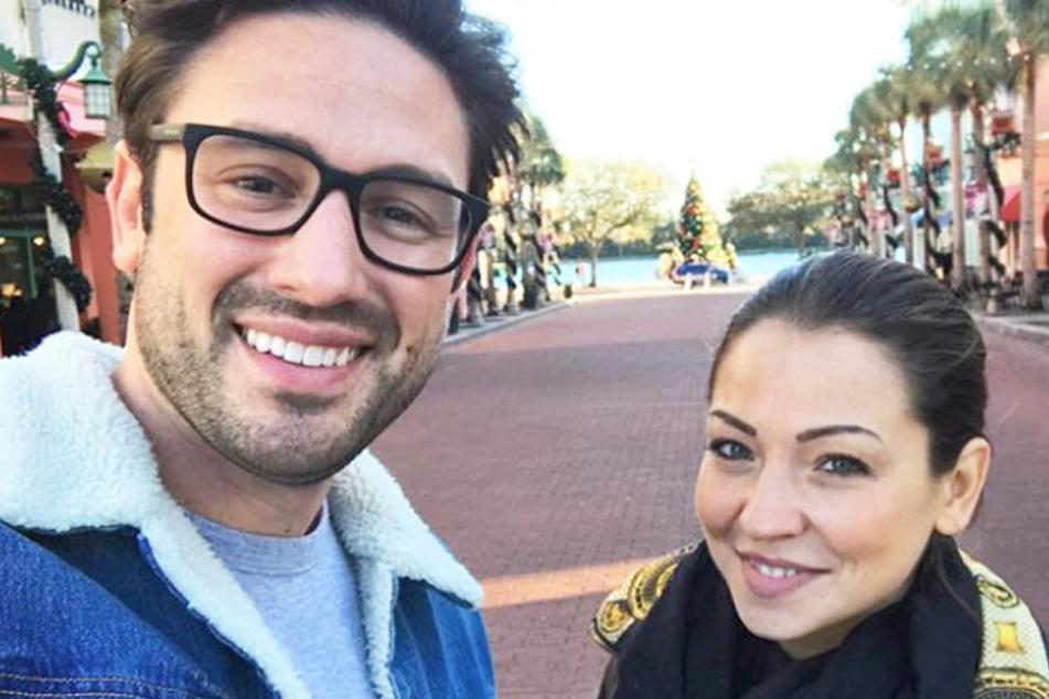 Endlich dürfen sie es der ganzen Welt zeigen: Daniel Völz (33) und Kristina Yantsen (24) sind ein Paar.
