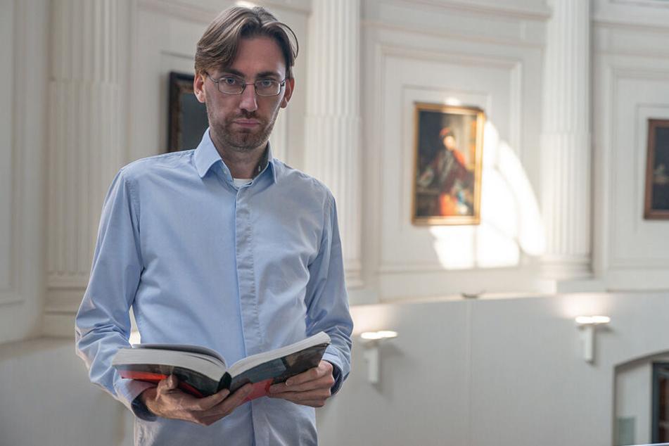 Politikwissenschaftler Dr. Hendrik Träger weiß um den Druck, den Sachsens Führungs-Duo vor der Wahl spürt.