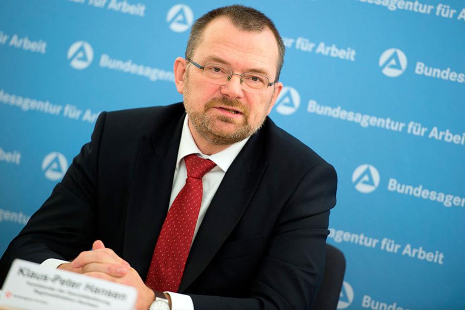 Sachsens Arbeitsagentur-Chef Klaus-Peter Hansen (55).