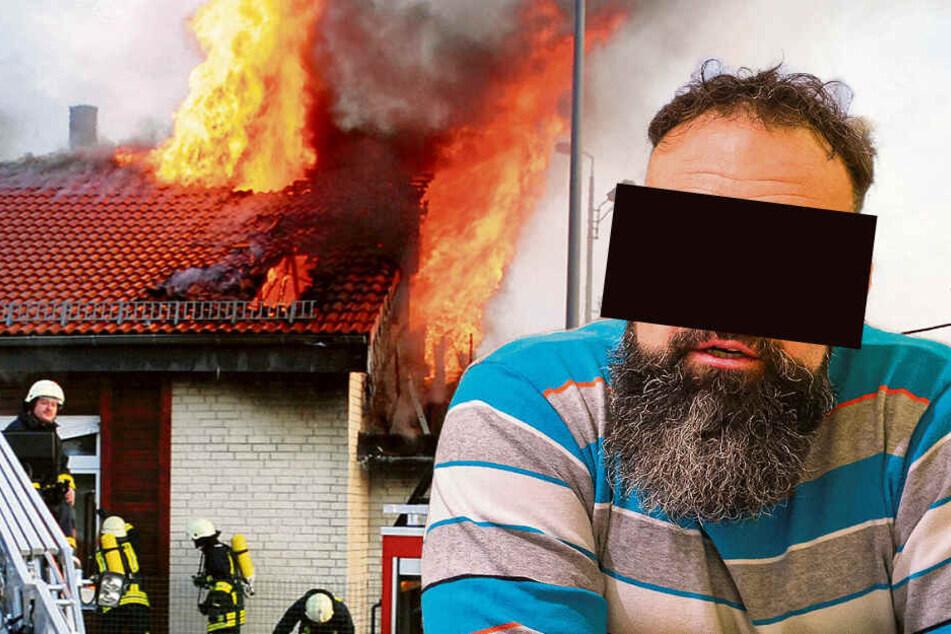 Serienzündler Robert aus Sachsen: Immer wenn er draußen ist, brennt's
