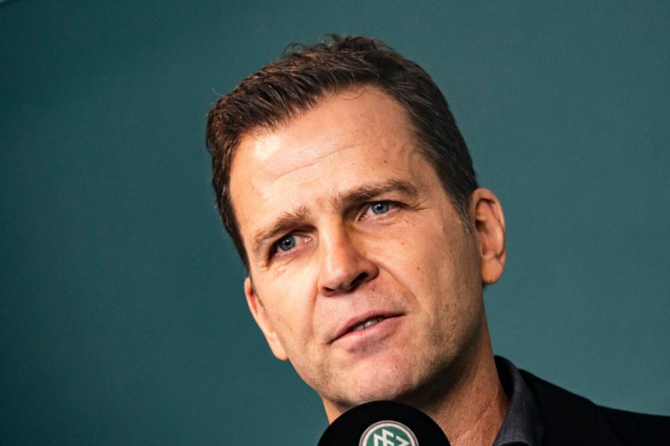 Nationalmannschafts-Direktor Oliver Bierhoff (52) hat keinen Zeitdruck bei der Trainer-Suche.