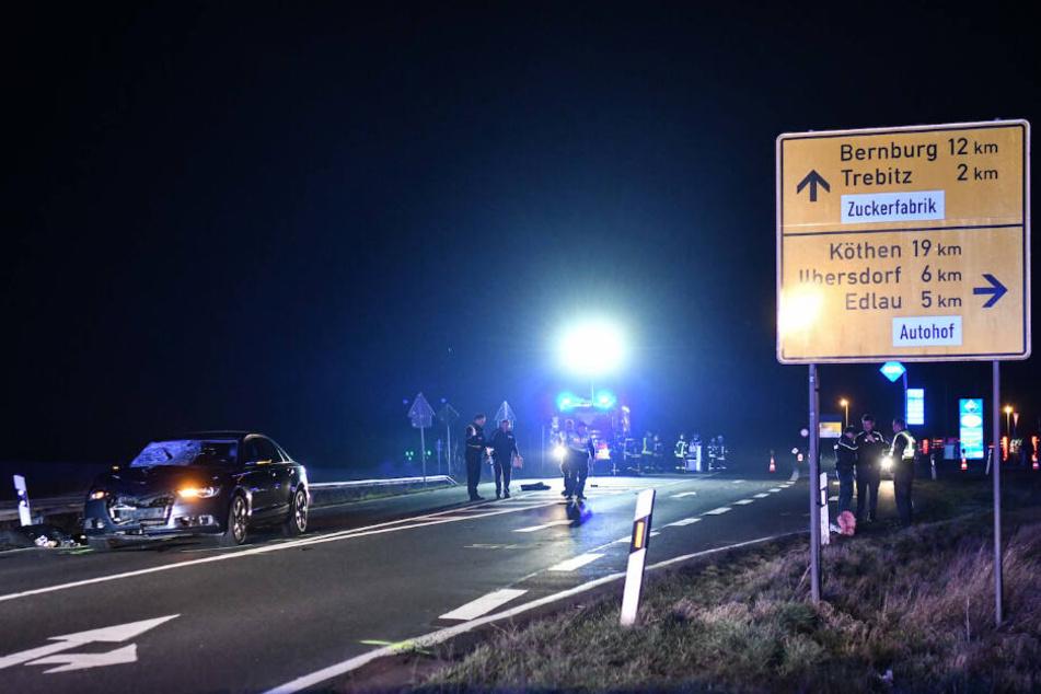 Auf einer Straße in Könnern (Salzlandkreis) kam es zu der Tragödie.