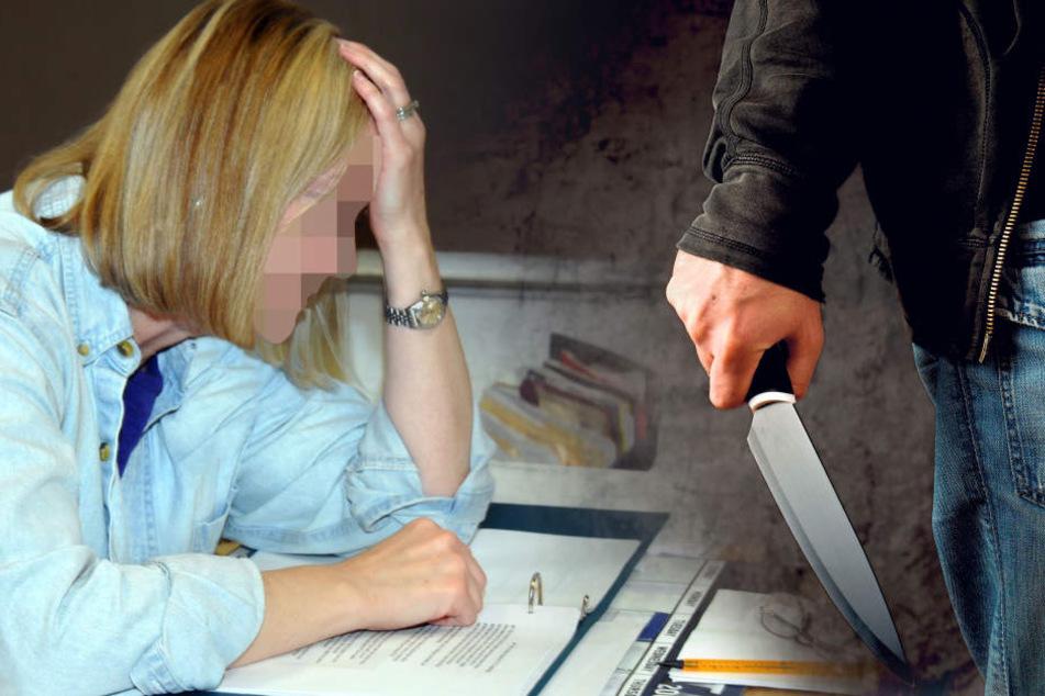 Mit einem Küchenmesser bedrohte der Schüler seine Lehrerin. Die Pädagogin musste sich danach  in psychiatrische Behandlung begeben (Symbolbild).
