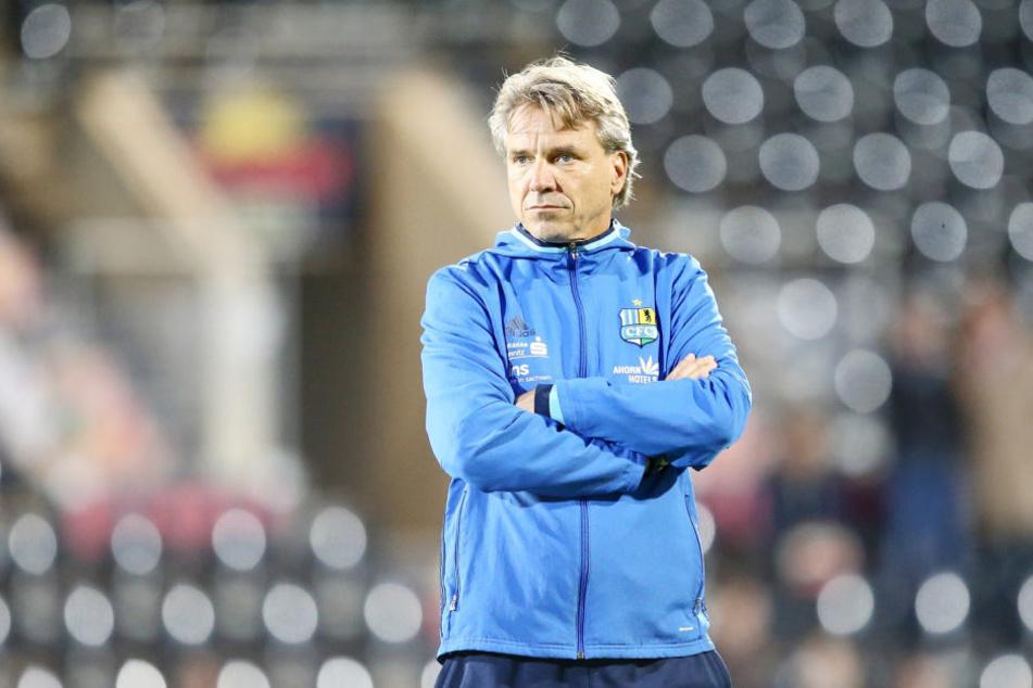 Der CFC geht mit Cheftrainer Horst Steffen (48) ins neue Jahr.