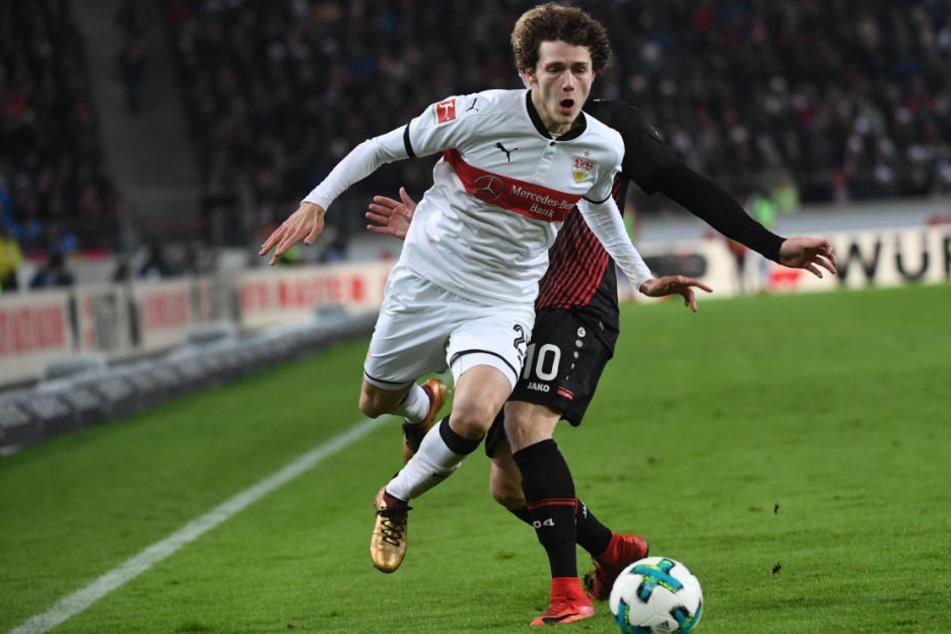 Hat noch einen Vertrag bis 2021 in Stuttgart: Benjamin Pavard.
