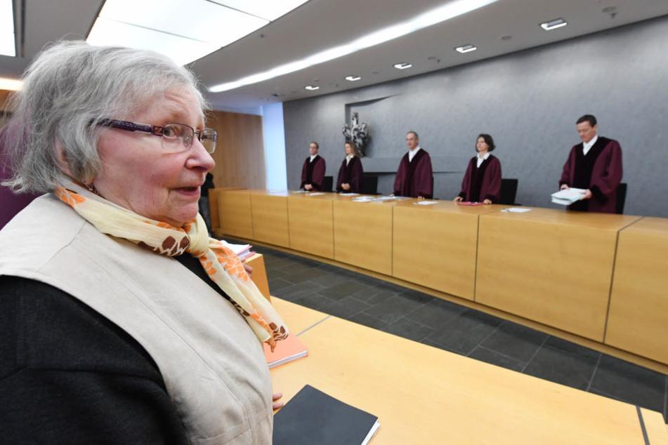 Marlies Krämer (80) hat sich in ihrem Leben schon Oft vor Gericht für Frauenrechte eingesetzt.