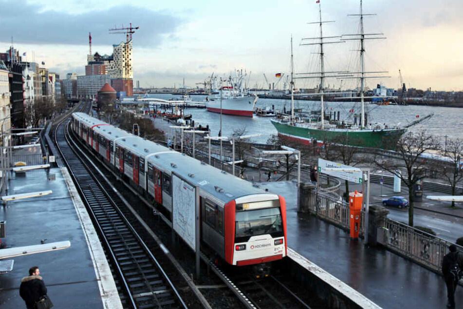 Mega-Baustelle legt U-Bahn-Halt Landungsbrücken monatelang lahm