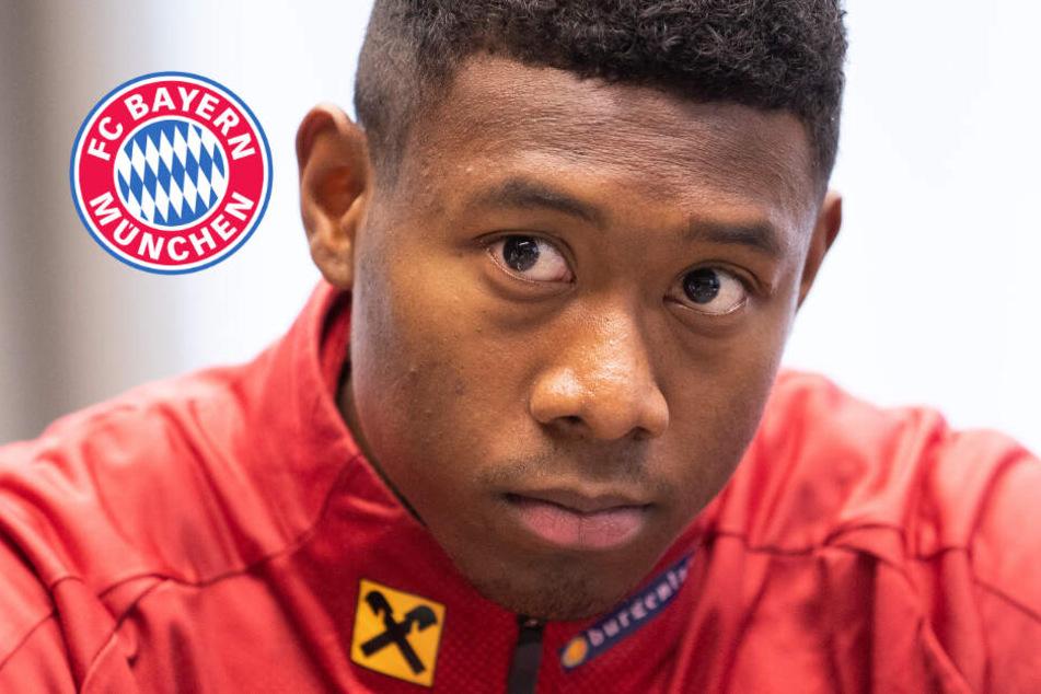 Schock für Alaba: FC-Bayern-Spieler fällt wegen Muskelfaserriss aus