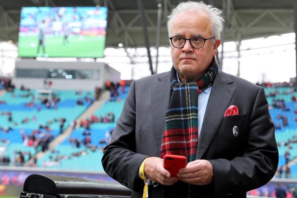 Fritz Keller als neuer DFB-Präsident? Laut Sachsens Fußball-Chef kam die Bekanntgabe der Kandidatur zu früh.