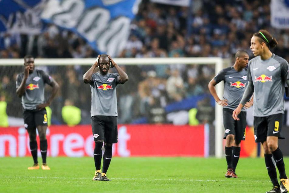 Durch das 1:3 in Porto hat RB das direkte Duell gegen die Portugiesen verloren. Bei Punktgleichheit würde Leipzig den Kürzeren ziehen.