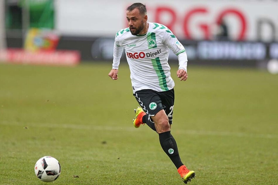 Sebastian Heidinger ist momentan bei der Sportvereinigung Greuther Fürth verpflichtet.