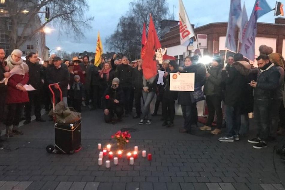 Hunderte Kölner gedenken der Opfer von Hanau