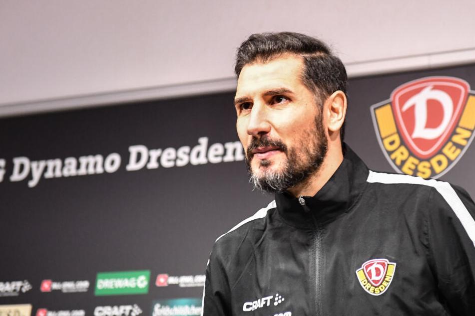 Er übernimmt das Ruder bei Dynamo: Cristian Fiel (38). Der ehemalige Kapitän leitete am Donnerstag um 13.30 Uhr seine erste Einheit.