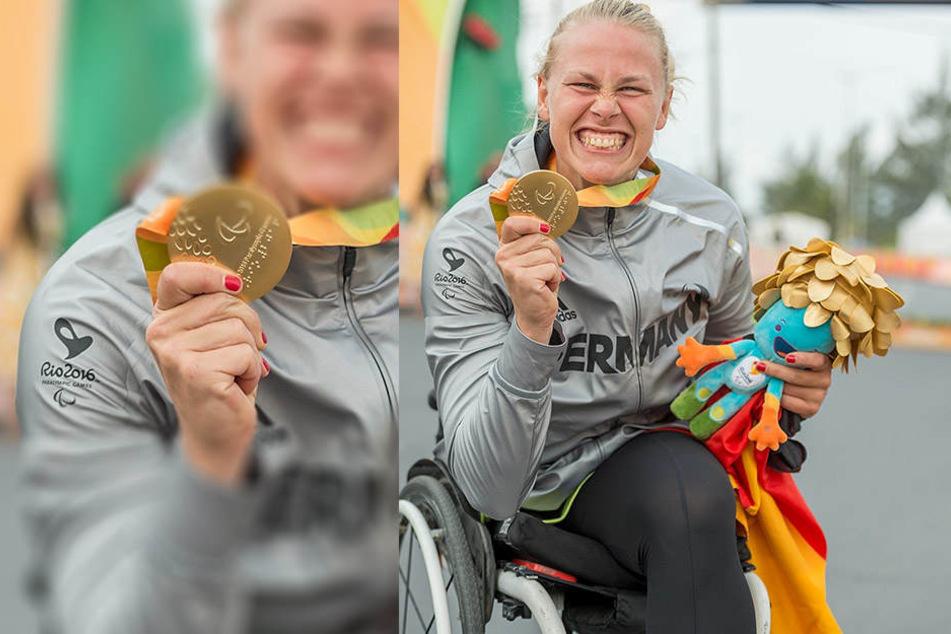 Mit fünf Jahren verlor Christiane Reppe ihr Bein. Dennoch hat sie eine Medaille geholt.