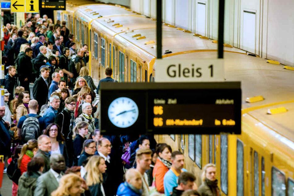 In der Berliner U-Bahn gab es 2016 weniger Gewalttaten, als im Jahr zuvor.