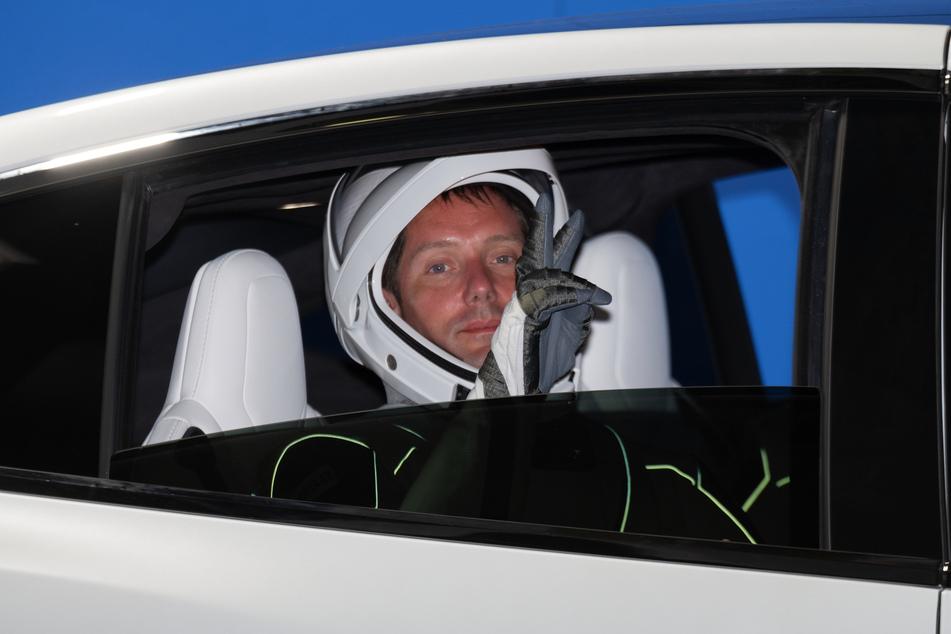 Er wollte der Erste sein: Astronaut Thomas Pesquet veranstaltete ein Diktat im All.