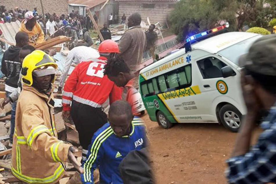 Grundschule stürzt ein: Sieben tote Kinder und dutzende Verletzte