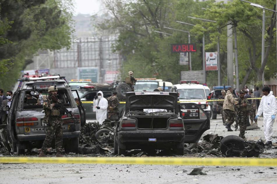 Bei dem verheerenden Anschlag in Nähe der deutschen Botschaft in Kabul wurden mindestens 90 Menschen getötet.