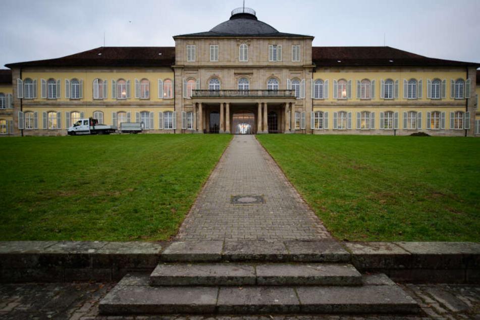Schloss Hohenheim in Stuttgart. Große Teile der Uni sind hier untergebracht.