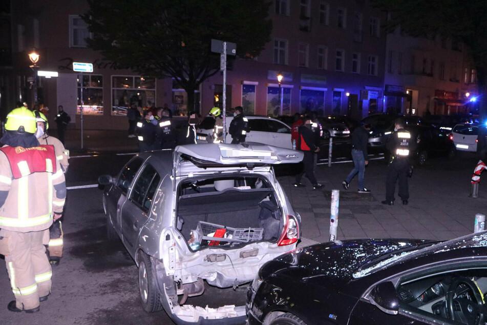 Kreuzungs-Crash an neuer Fahrradstraße in Neukölln
