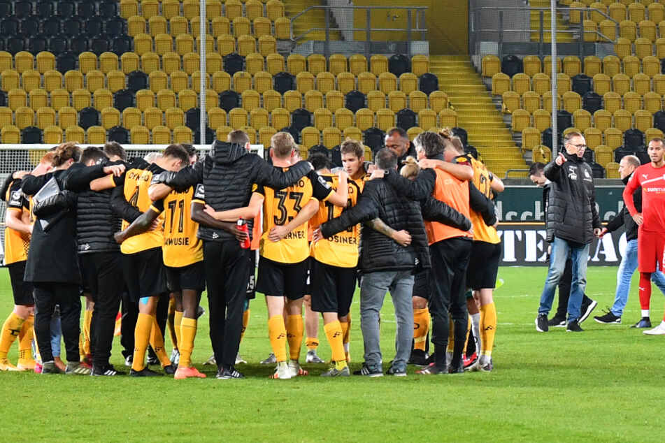 Auch nach der Heimpleite im Sachsenderby demonstrierte Dynamo Geschlossenheit. Nur während des Spiels fehlt es zu oft an Kompaktheit.