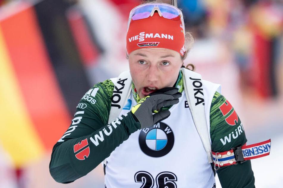 Laura Dahlmeier könnte vor Olympia 2022 laut ihrem Trainer ihre Karriere beenden.